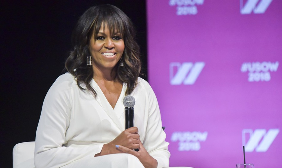 Michelle Obama, esposa del expresidente estadounidense Barack Obama