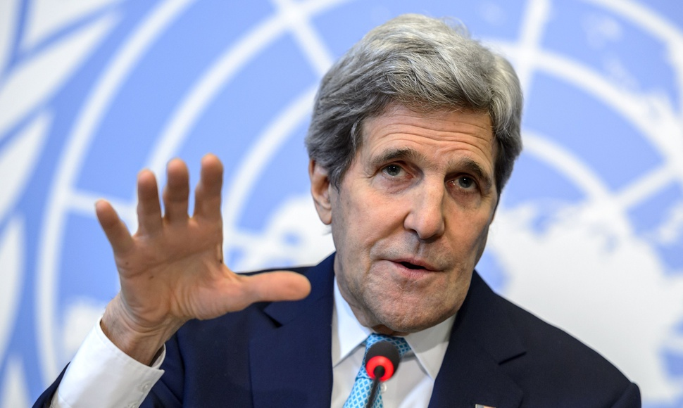 John Kerry, secretario de Estado de EEUU. AFP / END