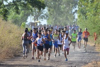 Nacional de Cross Country, al pie del volcán Cerro Negro