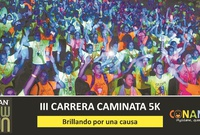 "Tercera carrera ""Gildan Glow Run, Brillando  por una causa"""