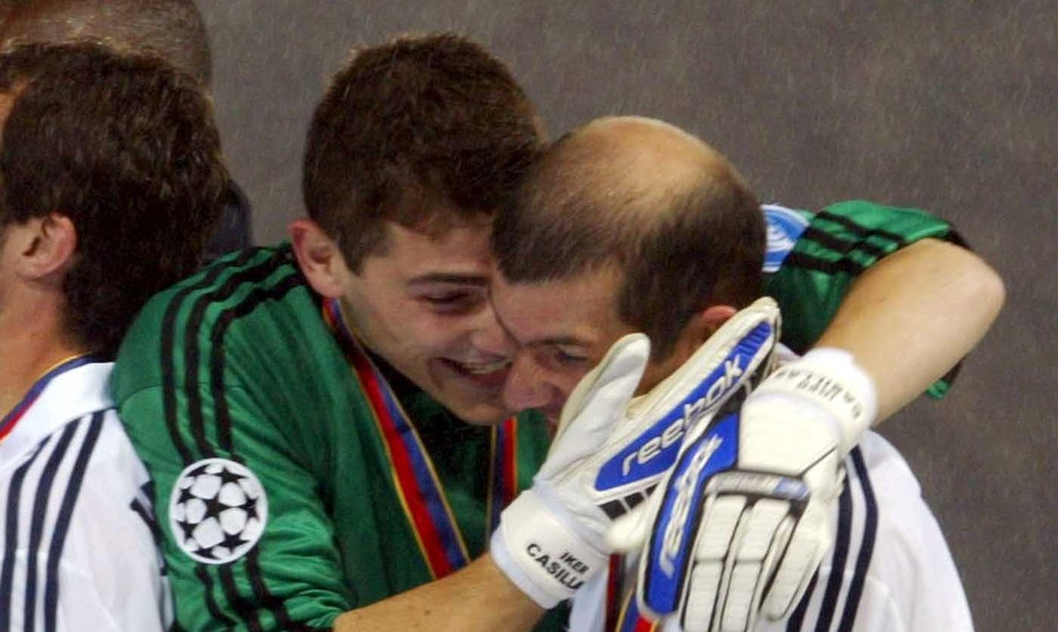 Casillas y Zidane.