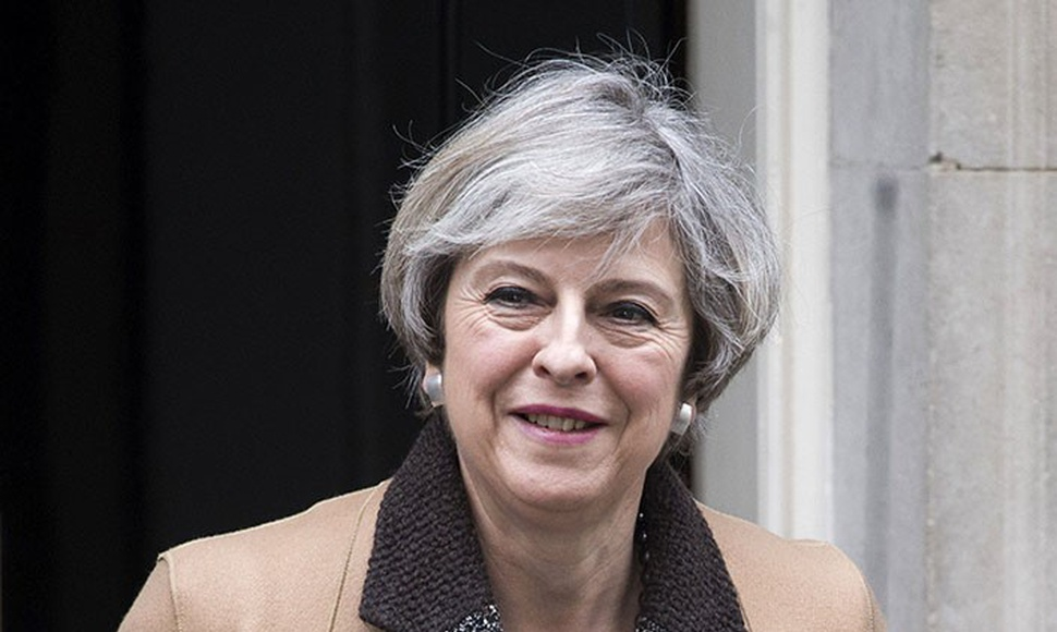 Theresa May, primer ministra británica.