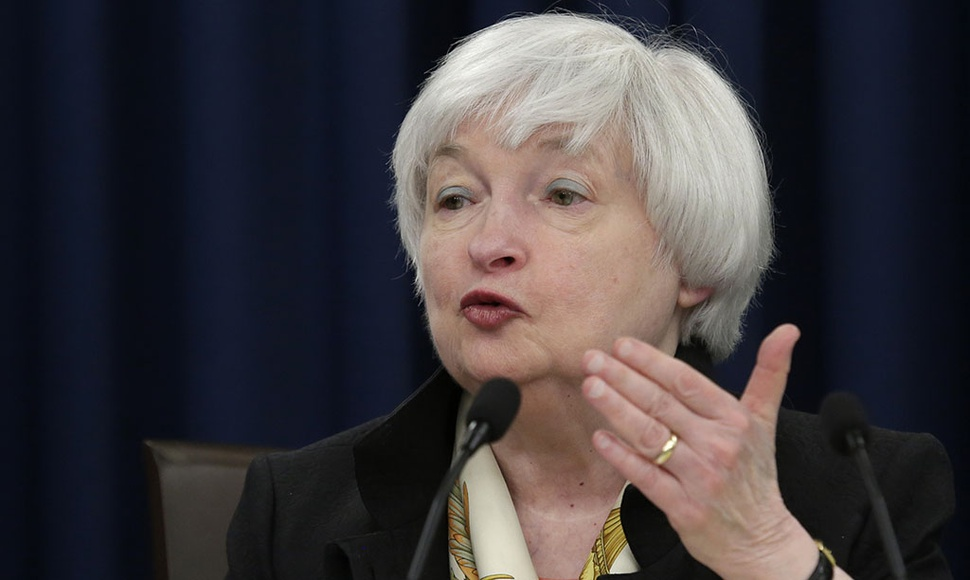 Janet Yellen, presidenta de la Fed.