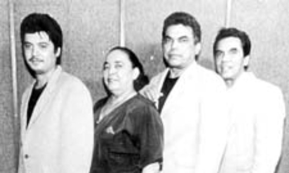 Integrantes de Los Hermanos Cortez.