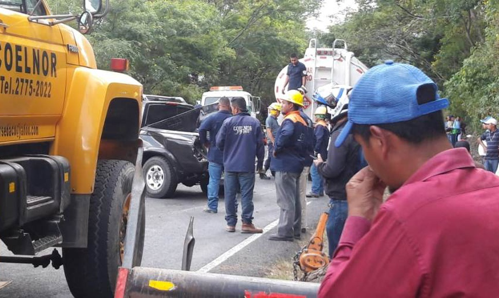 Los accidentes de transito dejaron únicamente daños materiales