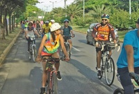 Red vial capitalina poco amigable con ciclistas