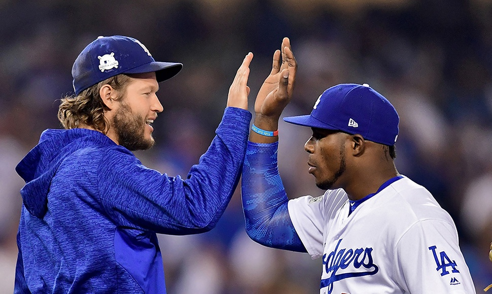 Clayton Kershaw lanzó 5 innings de 4 hits y 2 carreras.