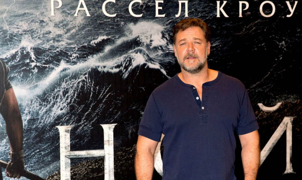 El actor Russell Crowe.