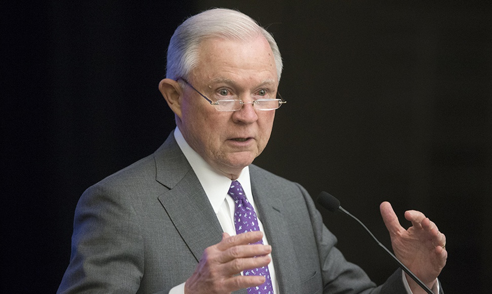 Fiscal general de Estados Unidos, Jeff Sessions.