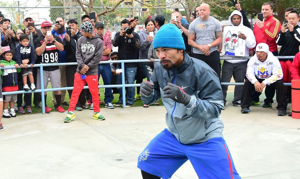 Manny Pacquiao´. AFP / END