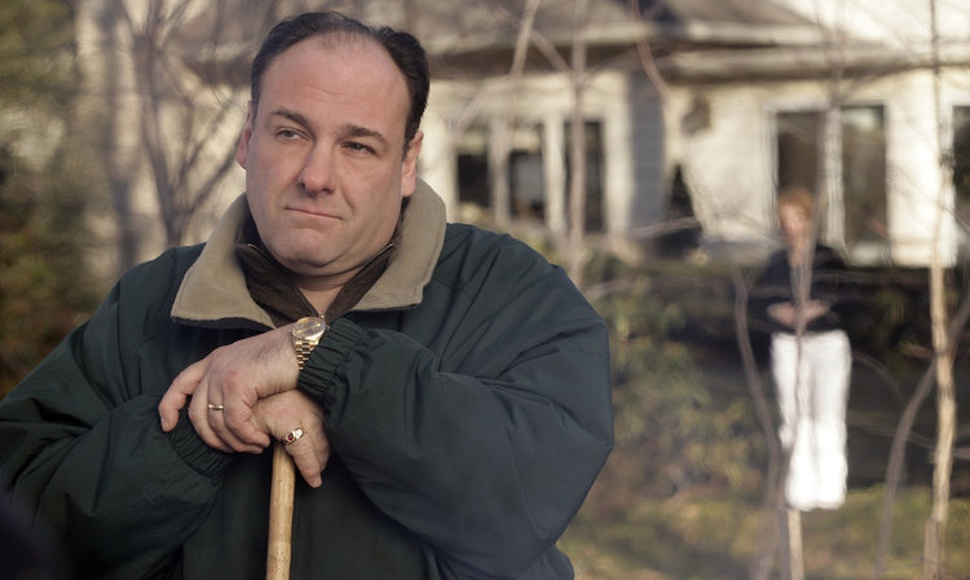 "Fans still argue over the ending of the ""The Sopranos,"" and what happened to Tony, played by James Gandolfini. (Craig Blankenhorn/HBO)"