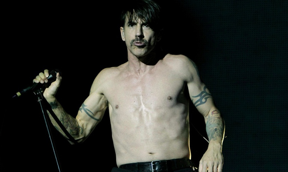 Anthony Kiedis, vocalista de Red Hot Chili Peppers.
