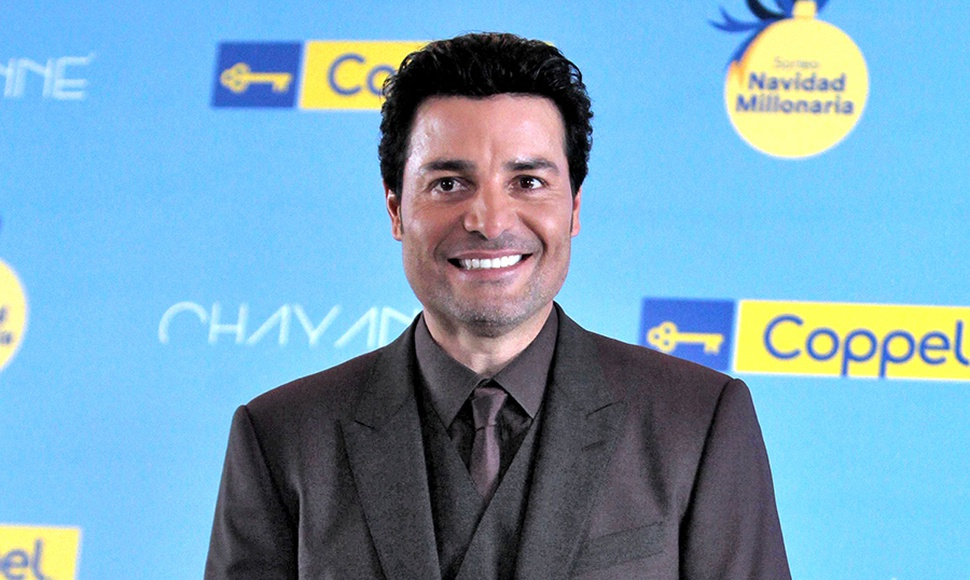 Chayanne, cantante.