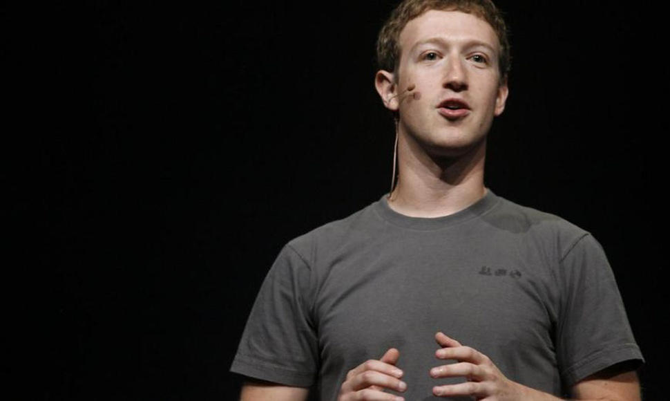 El fundador y CEO de Facebook, Mark Zuckerberg.
