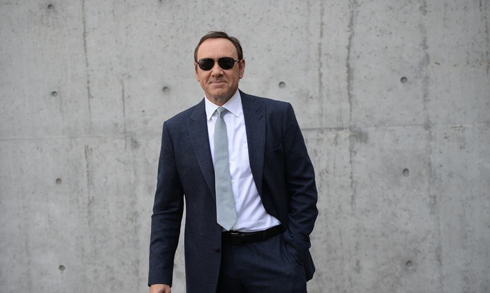 Kevin Spacey, actor acusado de abusos sexuales
