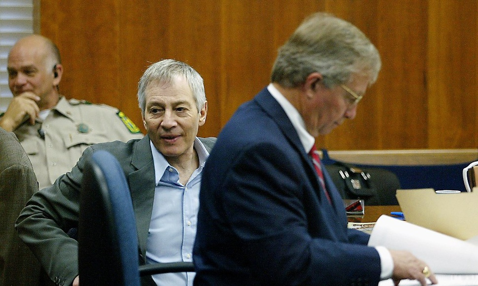 Robert Durst (i). AFP / END