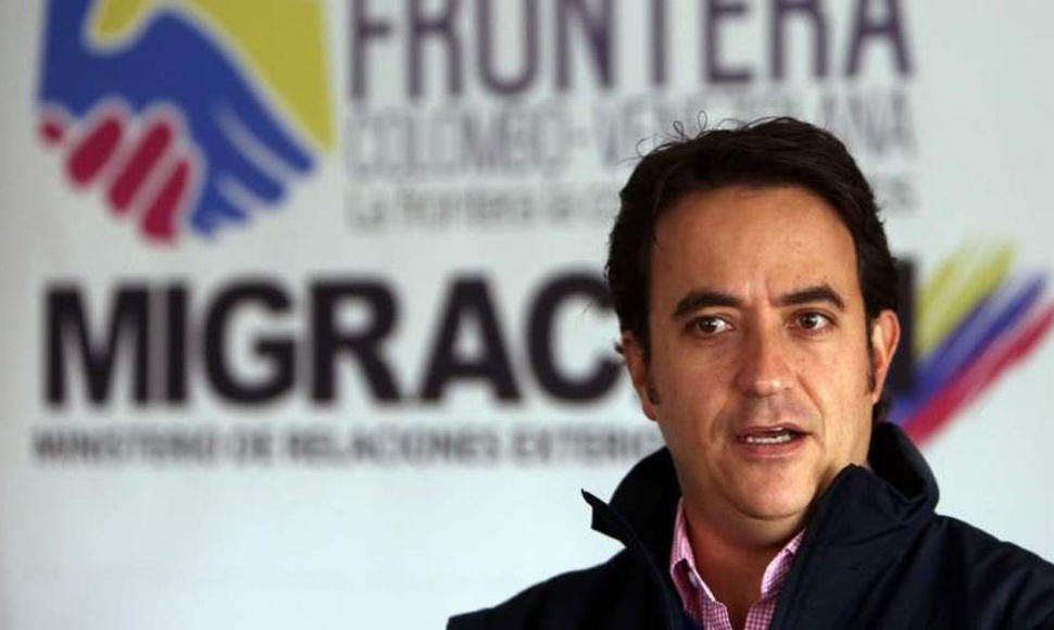 Christian Krüger, director General de Migración Colombia.