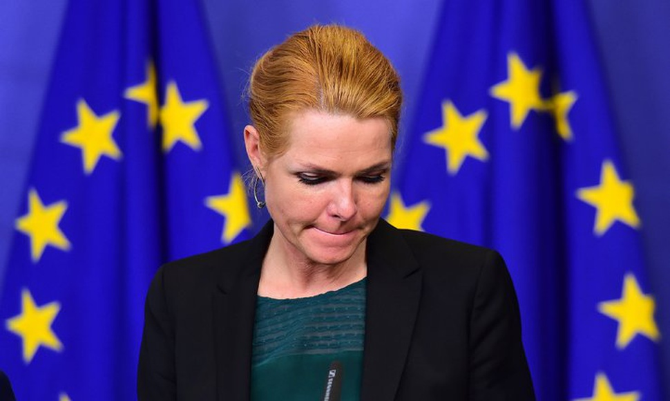 "Inger Stojberg, the interior minister, said that migrants ""are unwanted in Denmark, and they will feel that."" (Emmanuel Dunand/Agence France-Presse"