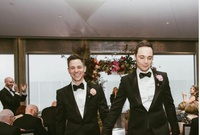 Jim Parsons, de The Big Bang Theory, se casa con su novio