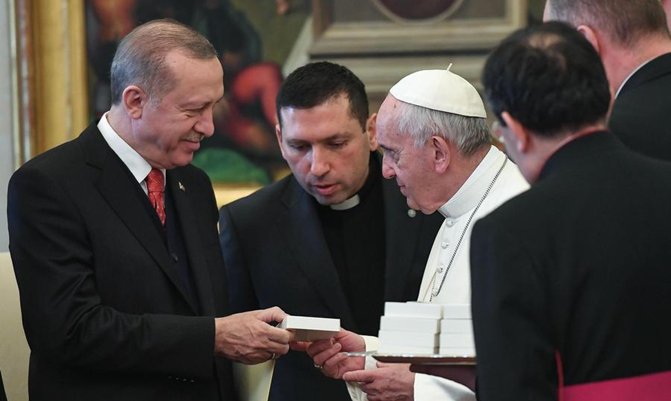 Erdogan y el papa Francisco destacaron