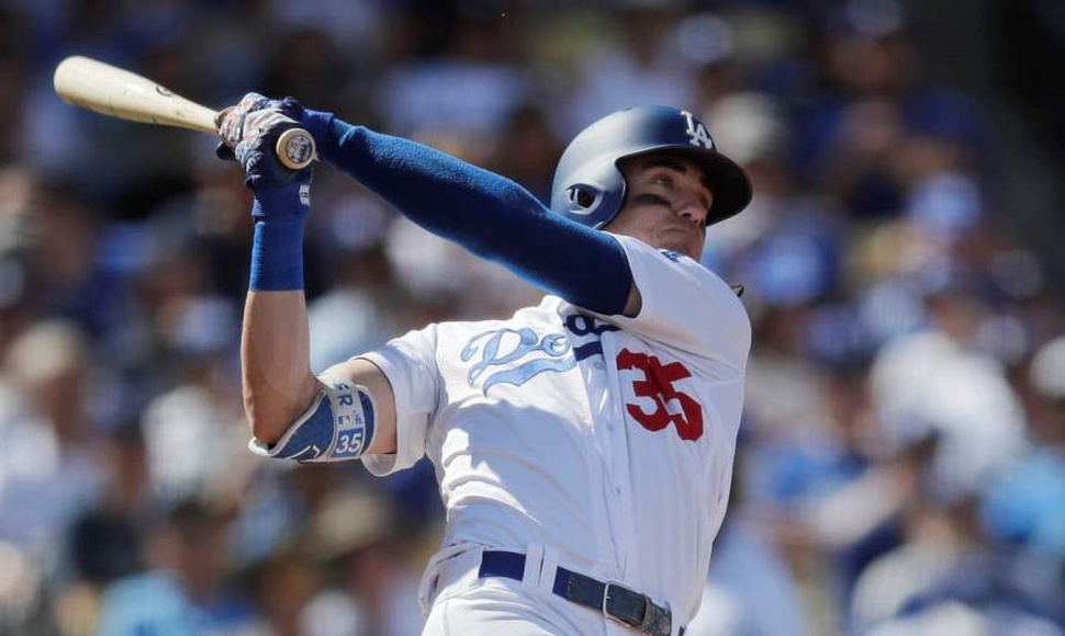 Cody Bellinger en plan grande con los Dodgers. MLB/Archivo/END