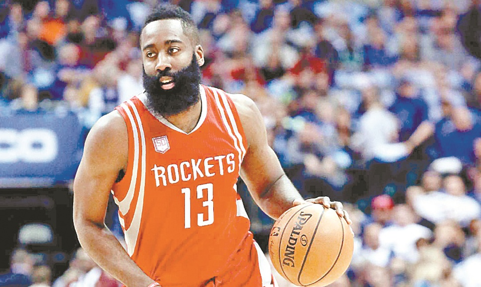 James Harden mete miedo con su ataque implacable.