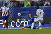 El Real Madrid choca contra Oblak