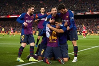 Suárez y Messi ganan al Atlético y dan la Liga al Barcelona