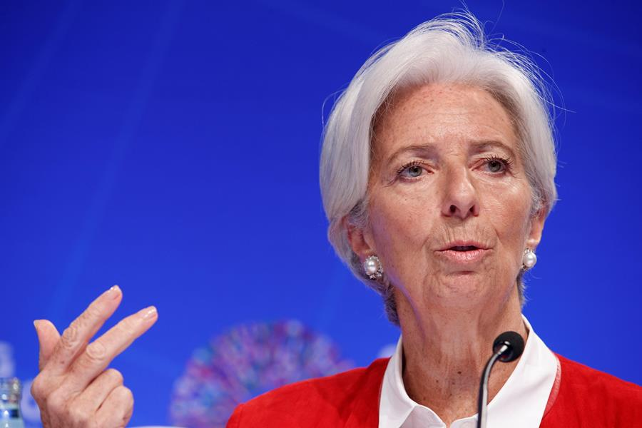 Christine Lagarde, directora del FMI. EFE/END