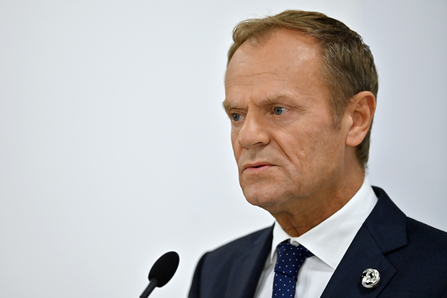 Donald Tusk, presidente del Consejo Europeo. AFP/END.