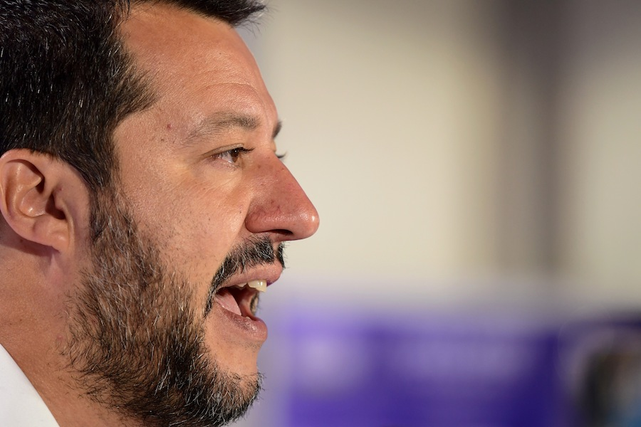 El ultradechista Matteo Salvini. AFP/END.