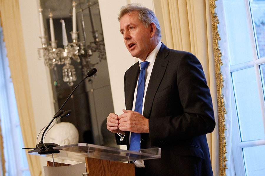 Kim Darroch, embajador británico en Washington. AFP/END