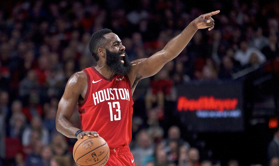 James Harden, la figura del equipo de Houston. ARCHIVO/END