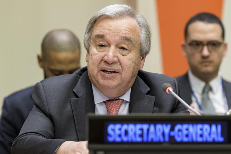 Antonio Guterres, secretario General de la ONU. AFP/END