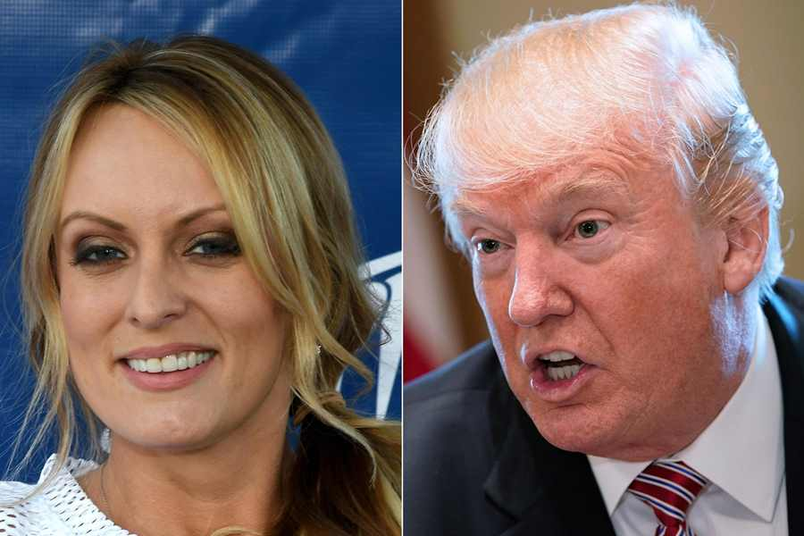 Stormy Daniels. AFP/END