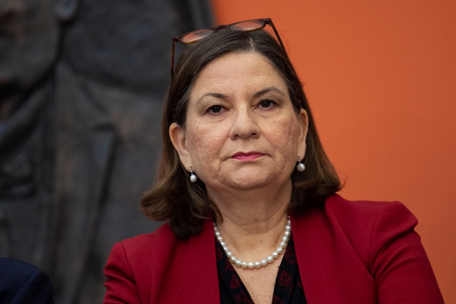 Martha Bárcena, embajadora de México en Washington. AFP/END