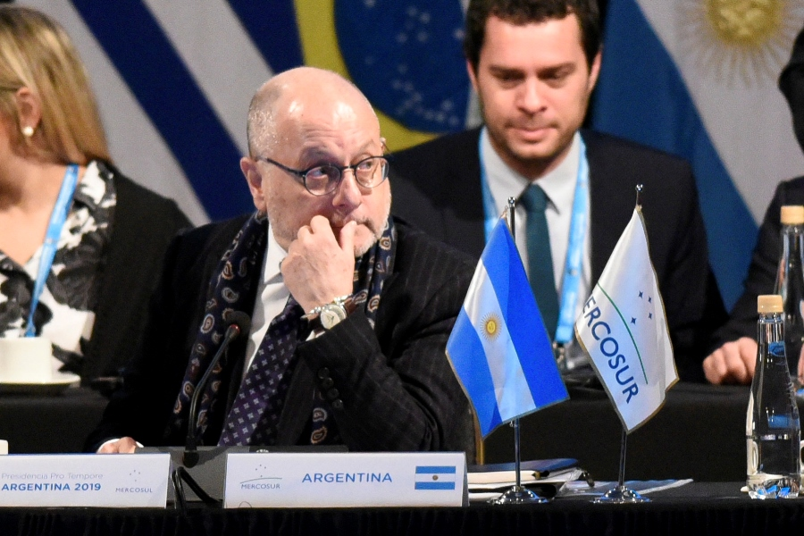 Jorge Faurie, canciller argentino. Archivo/END