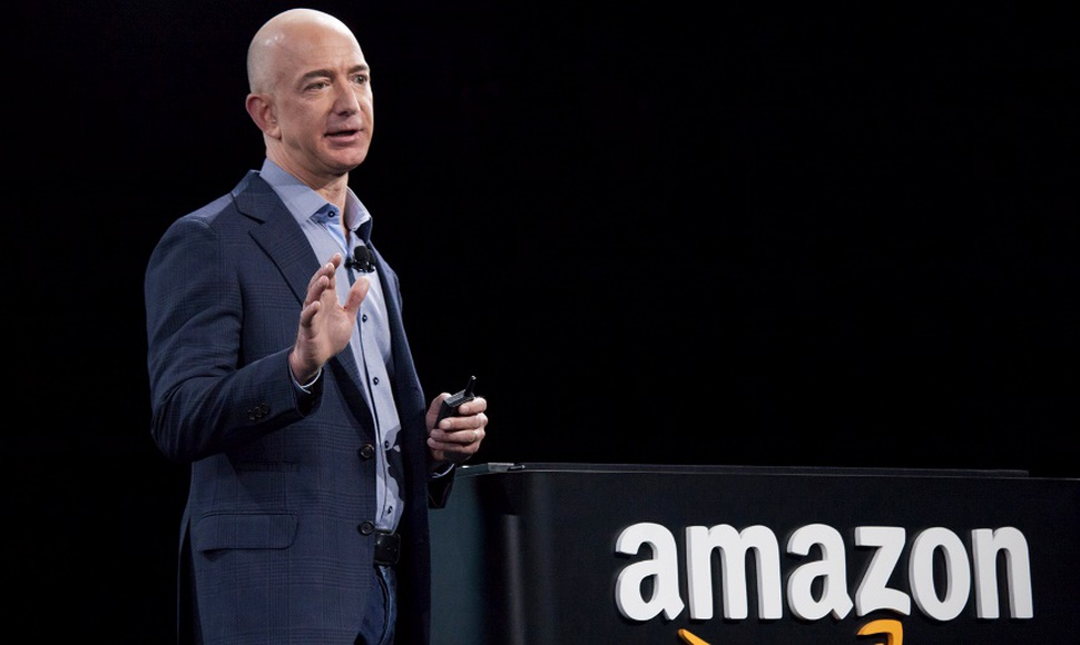 Jeff Bezos, propietario de Amazon. AFP/END.