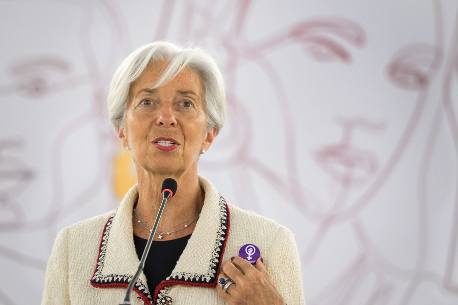 Christine Lagarde. AFP/END.