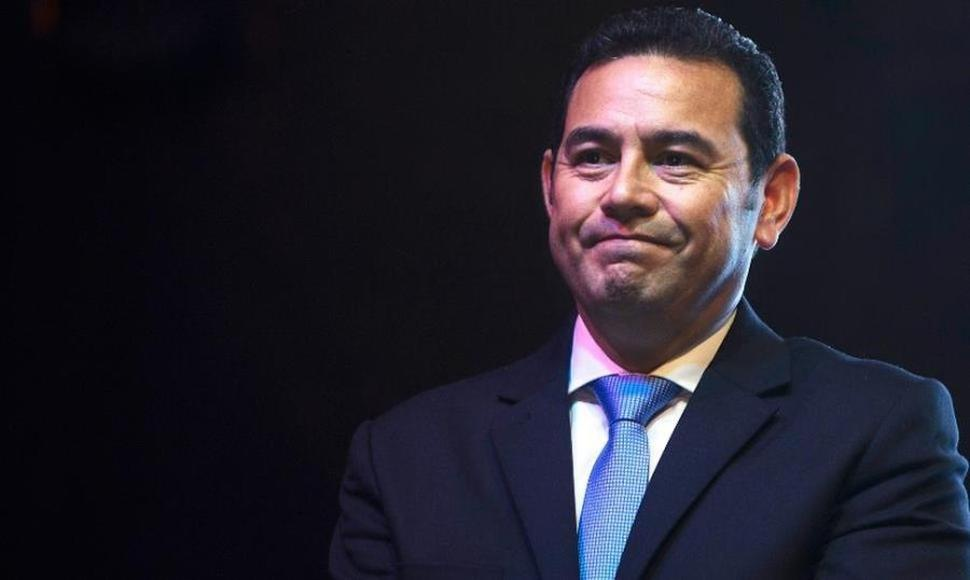 Jimmy Morales, actual presidente de Guatemala. ARCHIVO/END.