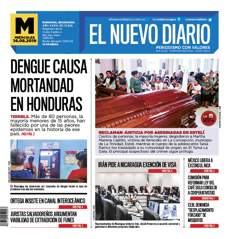 Dengue causa mortandad en Honduras
